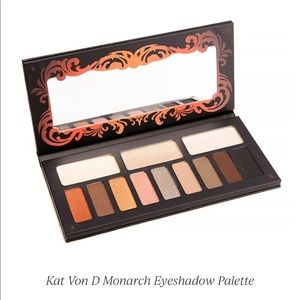 NEW Kat Von D Monarch Eyeshadow Palette 12 Shades